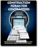 Construction Forms for Contractors Book+CD