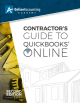 Contractor's Guide to QuickBooks Online eBook (PDF)