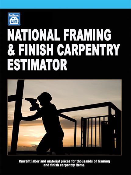 National Framing & Finish Carpentry Estimator