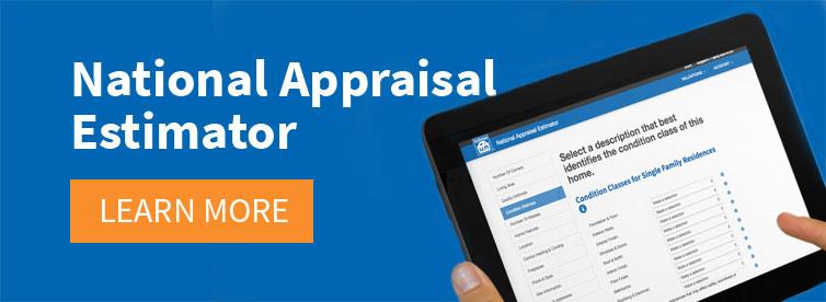 Craftsman National Appraisal Estimator