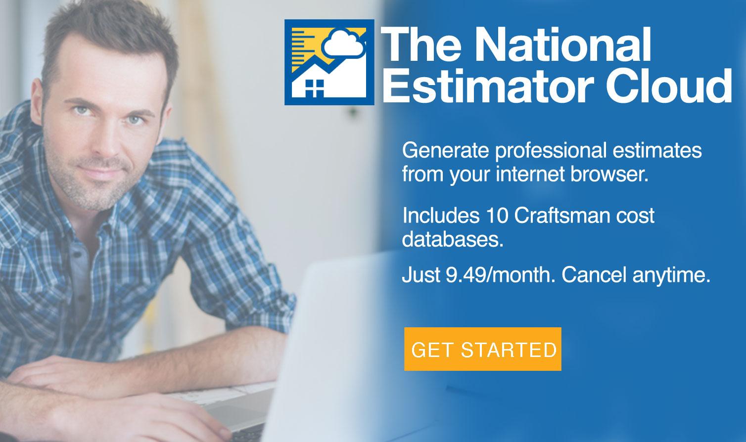 Craftsman National Estimator Cloud