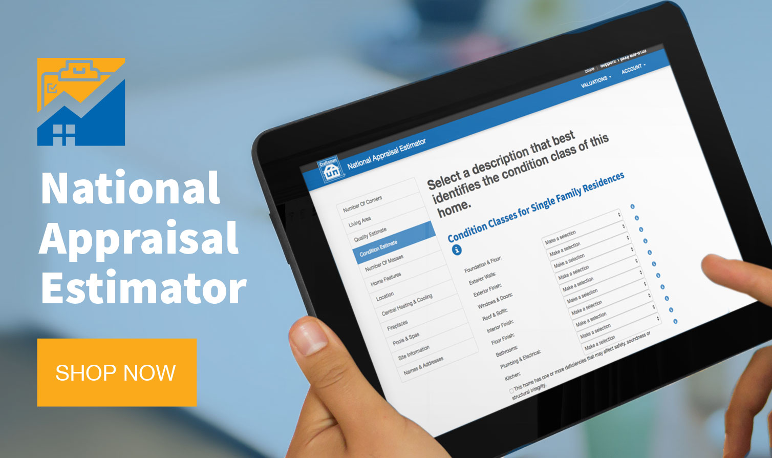 National Appraisal Estimator