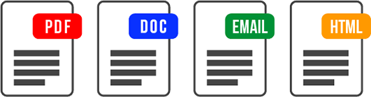 Report File Types