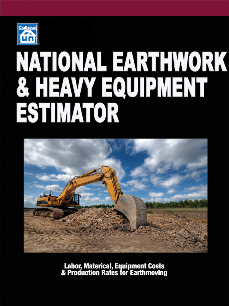 National Earthwork and Heavy Equipment Estimator 30-Day Trial